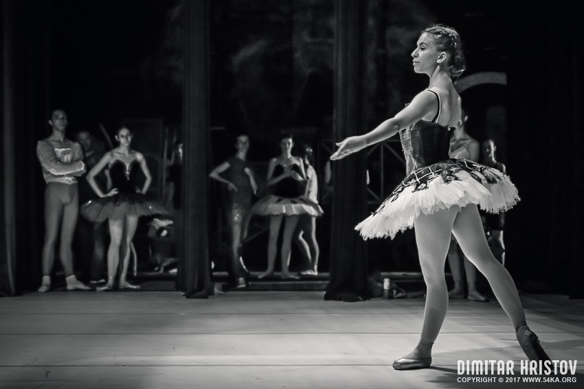 Ballet Girls Backstage photography stage other black and white  Photo