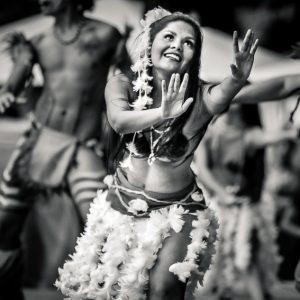 Chile – dance girl in costume