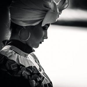 Colombian singer portrait