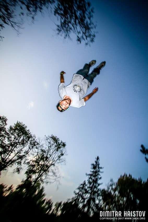 Roller skate freestyle jump photography sport extreme  Photo