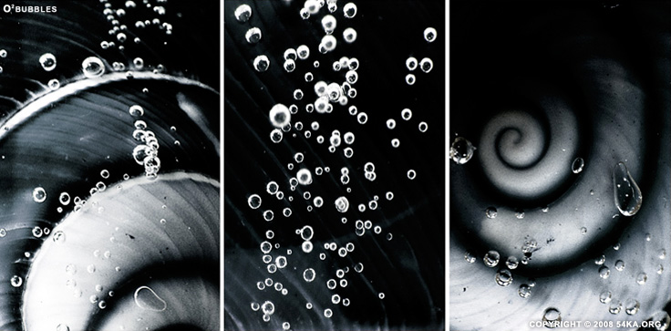 O2 Bubbles photography other macro black and white  Photo