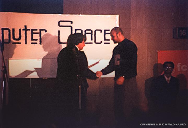 Computer Space   1st Place Award for Dimitar Hristov photography 54ka news  Photo