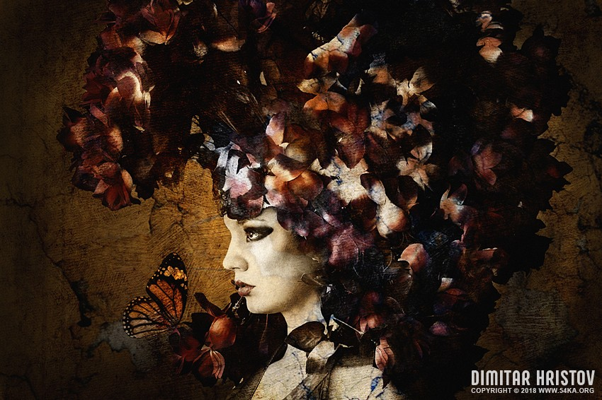 Flower Princess photography photomanipulation top rated featured fashion  Photo