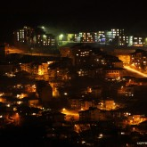 Veliko Tarnovo, Bulgaria night shot