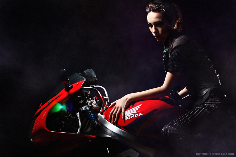 Honda photography portraits featured fashion  Photo