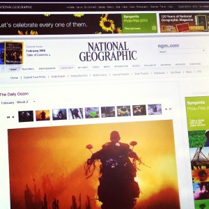 National Geographic magazine – The Daily Dozen select feature image of Dimitar Hristov