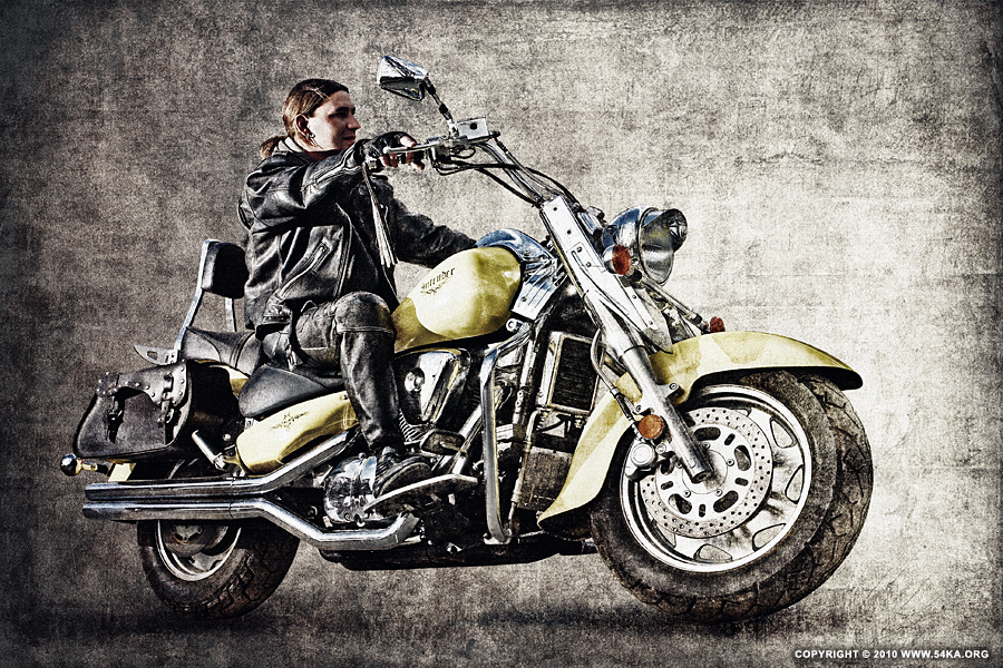 Biker II photography portraits photomanipulation featured  Photo