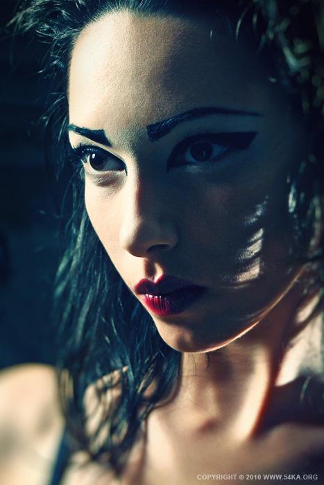 Fashion Makeup Girl Strobist Portrait photography portraits featured fashion  Photo