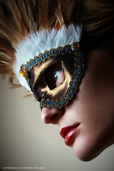 Feather mask II   eye mask photography featured fashion  Photo