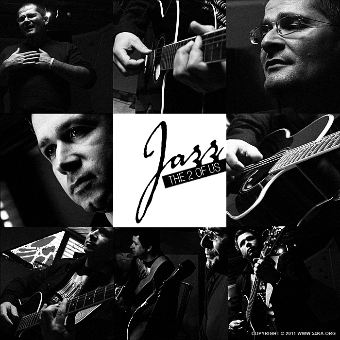 Jazz The 2 Of Us – Poster III photography portraits other black and white  Photo