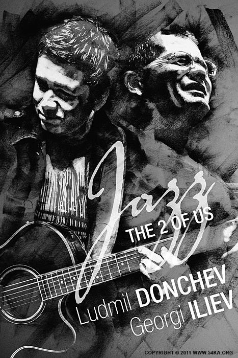 Jazz The 2 Of Us   Poster photography other black and white  Photo