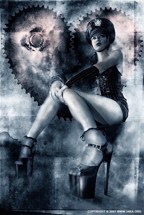 Latex Lady II photography photomanipulation featured fashion  Photo