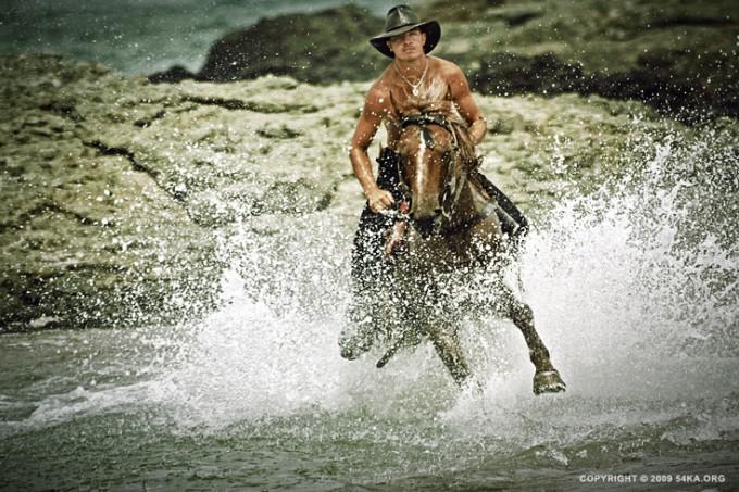 Rider on horse jumping - 54ka [photo blog]