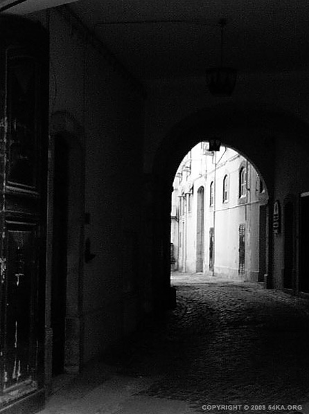Street Town I photography urban other black and white  Photo