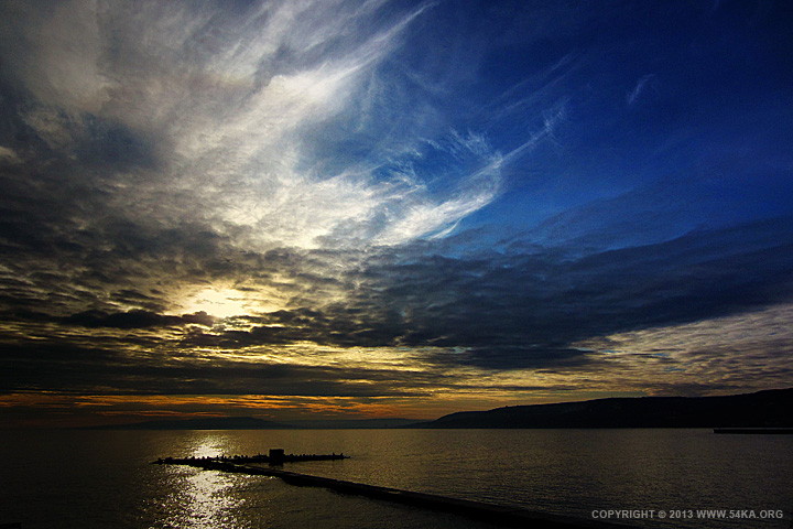 Winter Sea Sunset photography landscapes daily dose  Photo