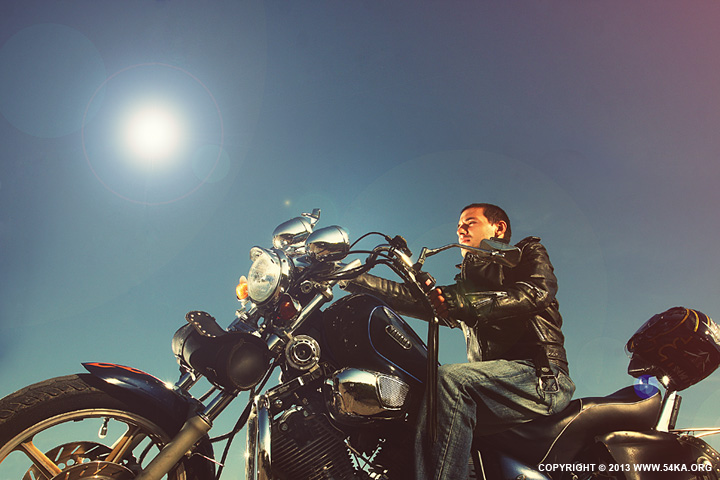 Motorcycle Lifestyles   Biker Man photography other featured  Photo