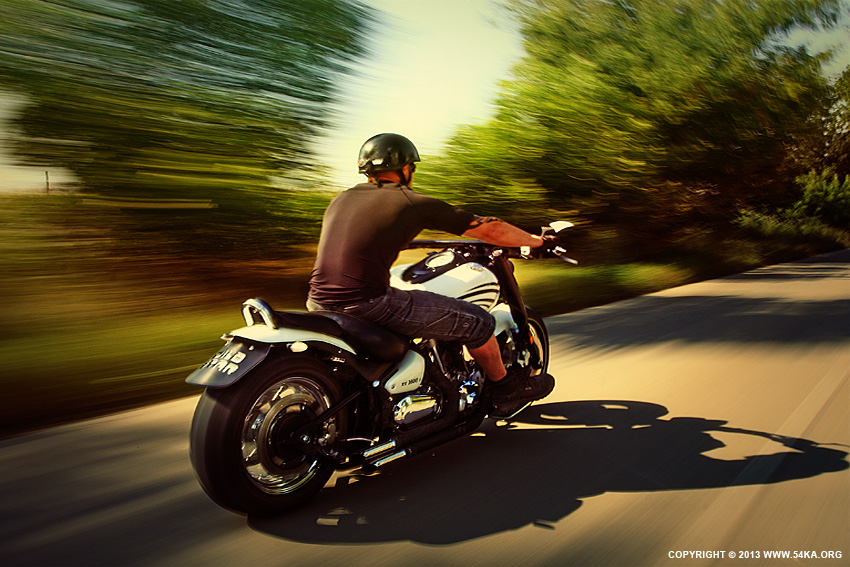 Riding Motorcycle On The Country Road photography other featured  Photo