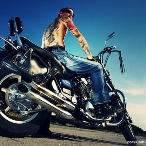 Tattooed Biker Man – Biker Tattoos