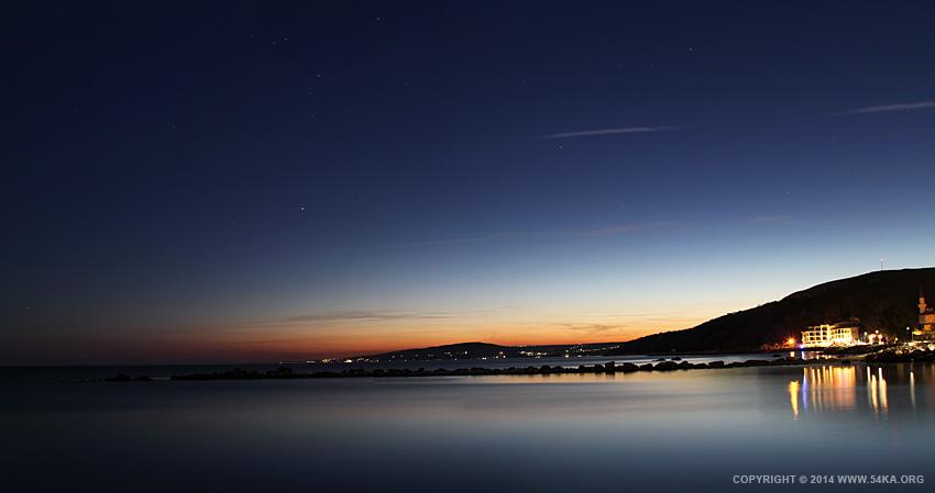 Sea Sunset Panorama 54ka Photo Blog