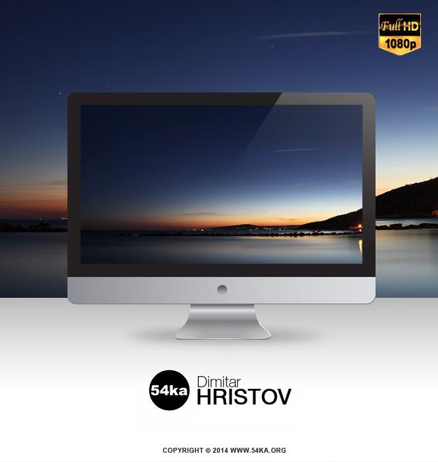 Sea Sunset FullHD Desktop Wallpaper 1920x1080 wallpapers  Photo