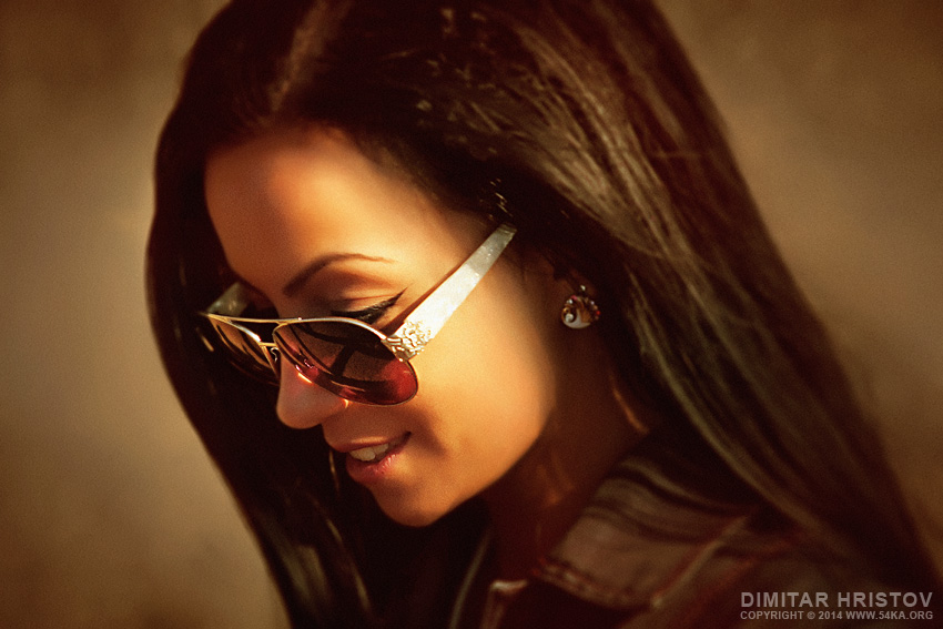 Sunglasses Girl Portrait photography portraits featured  Photo