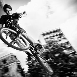 BMX Jump tricks