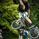 Freestyle BMX Jump