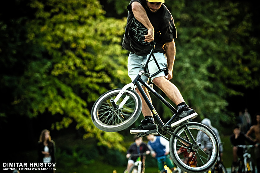 Freestyle BMX Jump photography other featured extreme  Photo