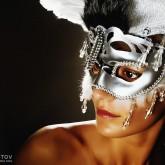 Angel Wings – Venetian Eye Masks Portrait