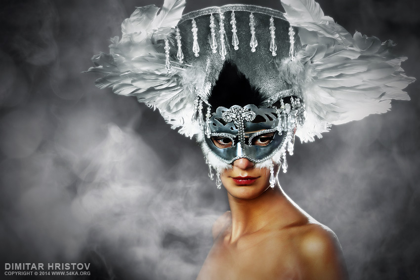 Angel Wings   Venetian Eye Masks photography photomanipulation top rated featured fashion  Photo