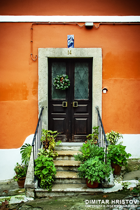 Front Door of a Red House photography urban other featured  Photo