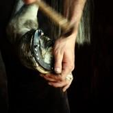 Hammering the horseshoe