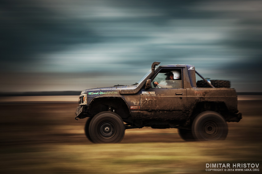 Jeep 4x4 in Offroad action photography other extreme  Photo