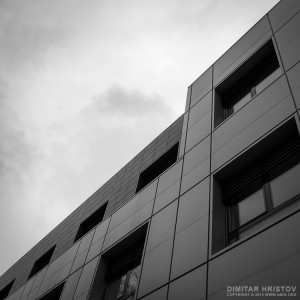 Facade office building – Urban photography – 6×6 middle format
