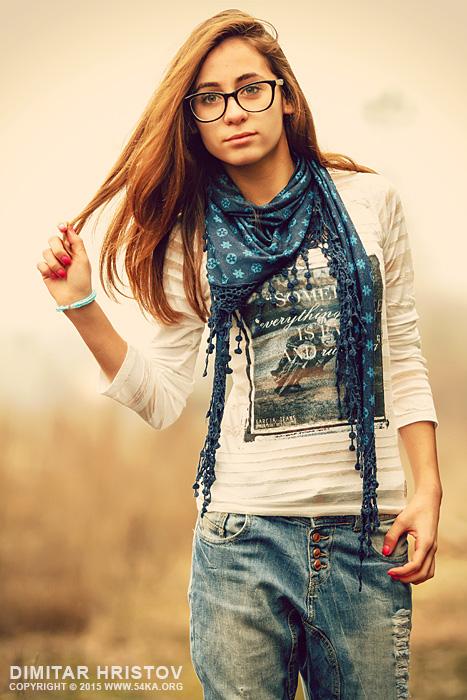 Sunny Summer Day Girl Sunshine Portrait 54ka Photo Blog