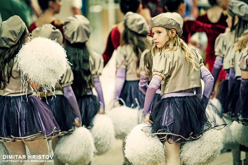 Cheerleaders cheering at street photography other top rated featured  Photo