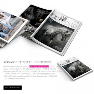 Equestrio Arabia – september – october 2015