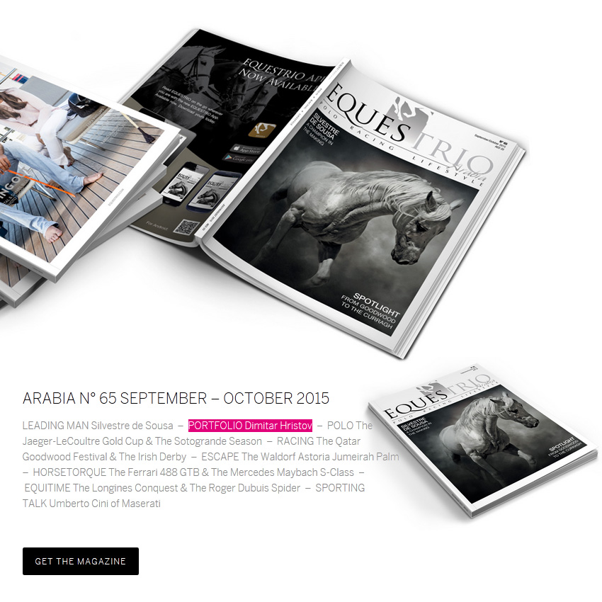 Equestrio Arabia   september – october 2015 54ka news  Photo