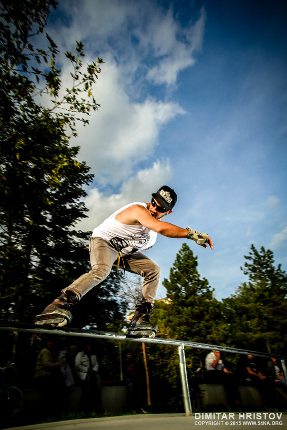 Rollerblade   rolling action photography extreme  Photo