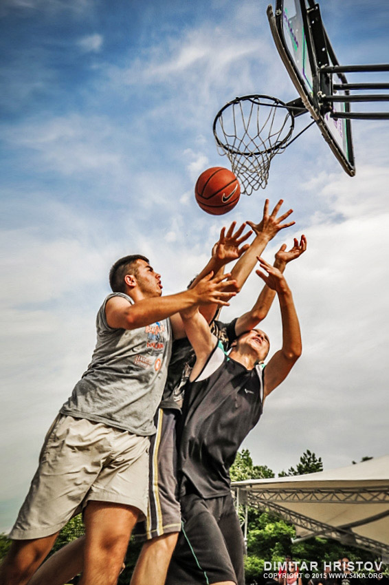 Street basketball players - 54ka [photo blog]