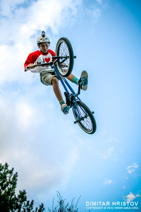 BMX Highest Jump photography extreme  Photo