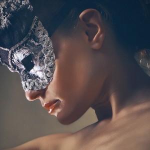 Vintage eye mask