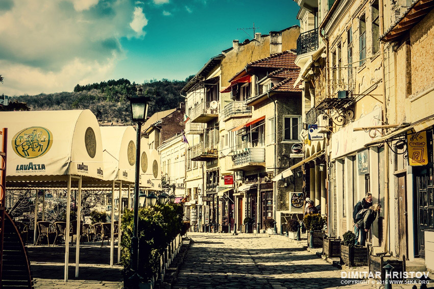 Beautiful street in the old city of Veliko Tarnovo photography urban top rated featured  Photo