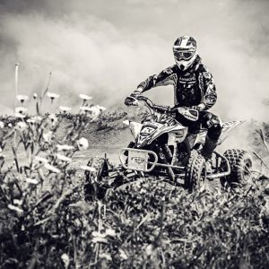 ATV 4×4 Flat track racing OffRoad action