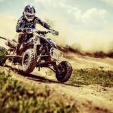ATV 4×4 Rider in the action