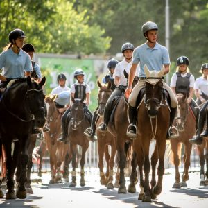 International Equestrian camp for kids in Albena