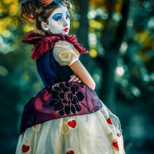 Angry Queen of Hearts – Alice in Wonderland