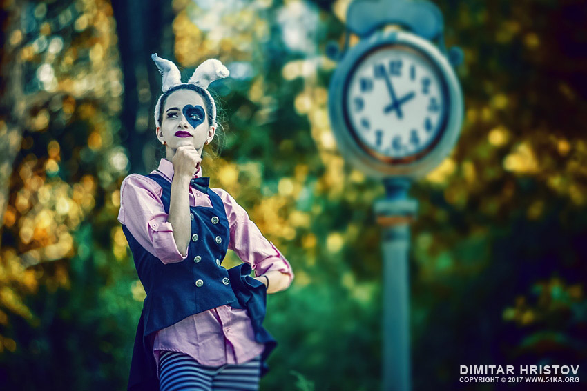 The Thinking Rabbit  – Alice in Wonderland photography other  Photo