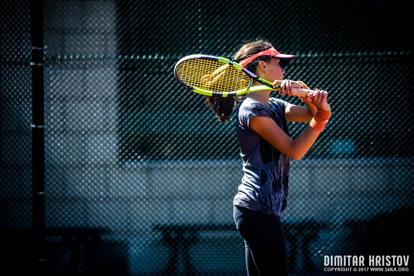 Girl playing tennis photography sport other  Photo