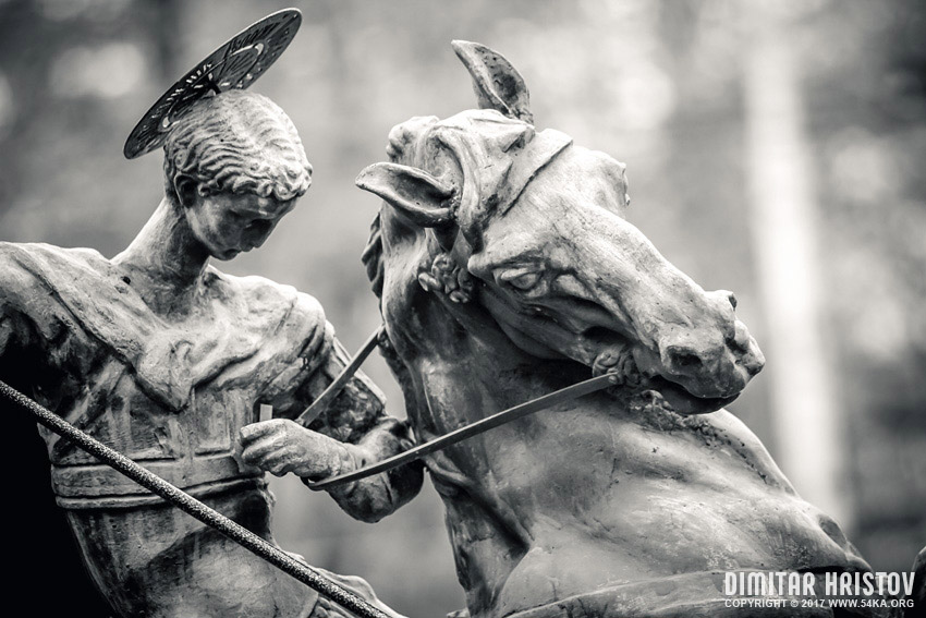 Monument of Saint George the Victorious photography urban other top rated featured black and white  Photo